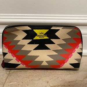 Coach Tribal Cosmetic Case